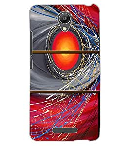ColourCraft Abstract Image Design Back Case Cover for XIAOMI REDMI NOTE 2