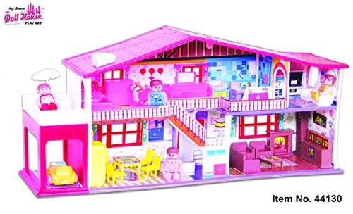 Toyzone My Deluxe Doll House, Red