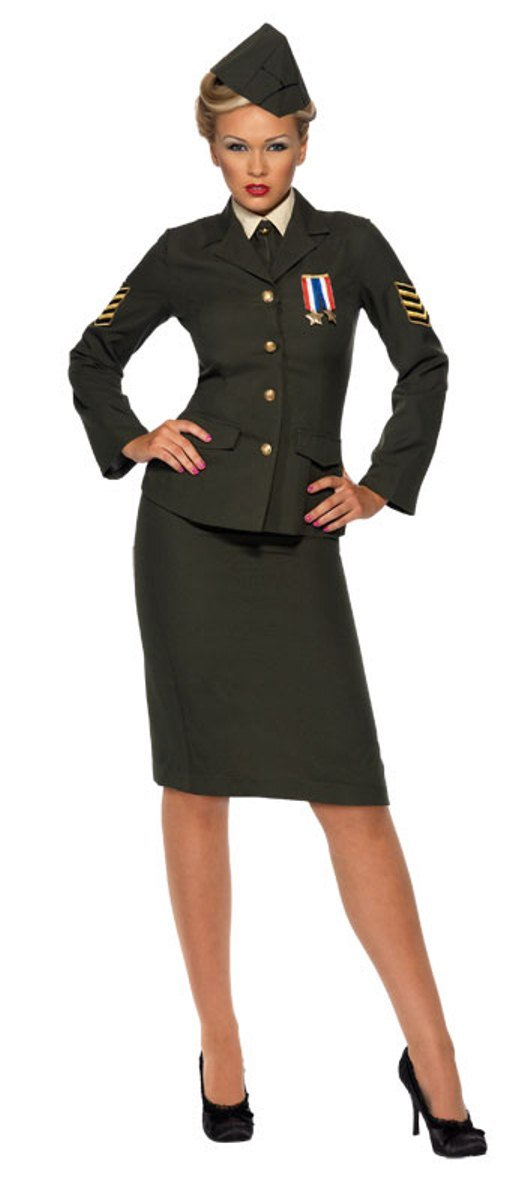 Women's Wartime Officer Costume
