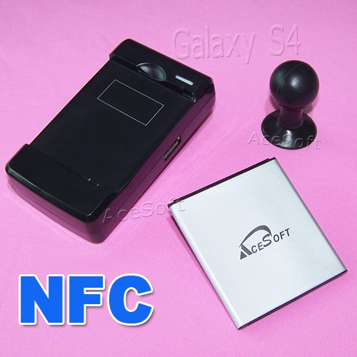 New AceSoft 3380mAh NFC Battery Travel Home Dock