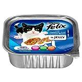 Felix con bacalao y eglefino en Jelly 16 x 100 g Bandeja de la hoja