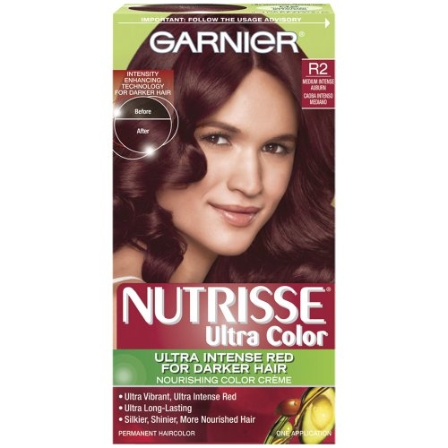 Intense Auburn Hair Color