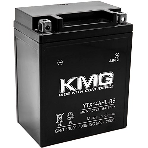 Ytx14Ahl-Bs Battery For Yamaha 480 Vt480 Venture Tr Electric 1998 Sealed Maintenace Free 12V Battery High Performance Smf Oem Replacement Maintenance Free Powersport Motorcycle Atv Scooter Snowmobile Watercraft Kmg