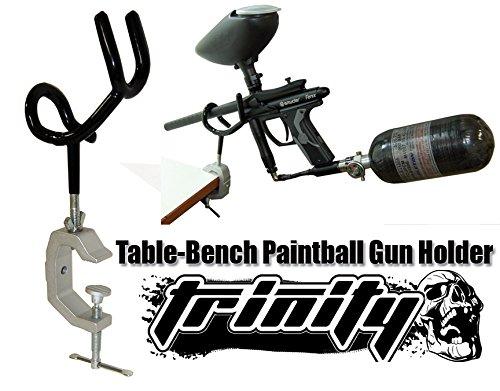Bt Delta Paintball Gun Stand, Bt Paintball, Bt Paintball Gun, Paintball Gun Stand, Paintball Gun Holder, Table Bench Paintball Gun Stand, Trinity Paintball