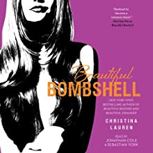 Beautiful Bombshell Audiobook by Christina Lauren Narrated by Jonathan Cole, Sebastian York
