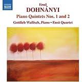 ドホナーニ:ピアノ五重奏曲 第1番&第2番
