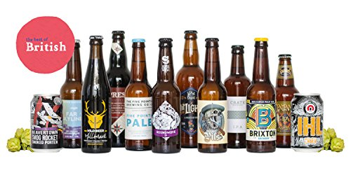 HonestBrew Best of British – 12 Beer Mixed Case