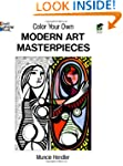 Color Your Own Modern Art Masterpieces