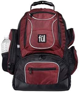 Ful Beale Street Backpack (Burgundy, Small)