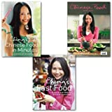 Ching-He Huang Ching-He Huang Chinese Food Collection 3 Books Set, Chinese Food Made Easy, Ching's Chinese Food in Minutes & Ching's Fast Food: 110 Quick and Healthy Chinese Favourites