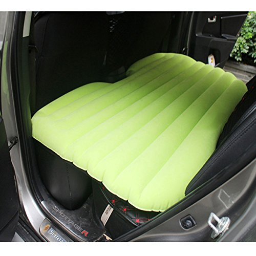 ASJ Car Travel Inflatable Mattress Inflatable Bed Camping Universal Chartreuse