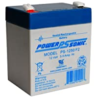 SLA Replacement Battery Set for Minuteman CP 500 12V 7.2Ah F2 Sealed Lead Acid
