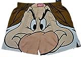 Men's Grumpy Big Face Boxer Shorts Underwear