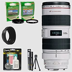 Canon EF 70-200mm f/2.8L IS Image Stabilizer USM AF Telephoto Le