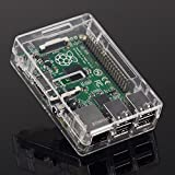 Tontec® Case for Raspberry Pi 2 Model B Transparent Cover Box Enclosure for Raspberry Pi Model B+