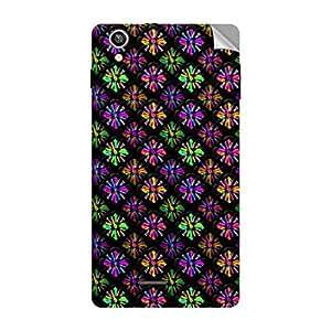 Garmor Designer Mobile Skin Sticker For Lava Iris X1 Atom s - Mobile Sticker