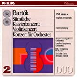 Bartók : Les Concertos pour piano - Concerto pour violon n° 2 - Concerto pour orchestre