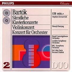 Bartok;Piano Concertos