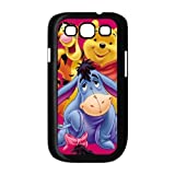 Winnie the Pooh Eeyore Piglet Custom Durable Back Cover Cases for Samsung Galaxy S3 I9300