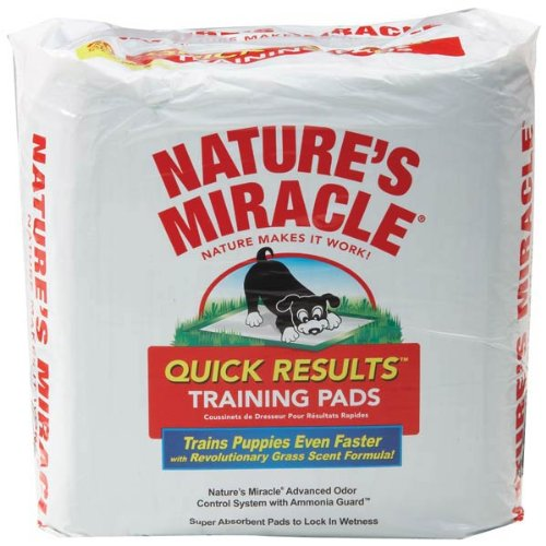Nature's Miracle Quick Results Training Pads 80 Count Bag