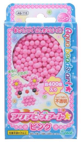 Aqua beads Art Pink