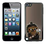 Harte PC Hülle Schutzhülle Handyhülle Hard Protective Case Smartphone Cover for Apple iPod Touch 5 // Nette Wookie Chewie Star War // CooleCell