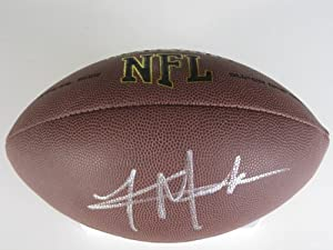 Khalil Mack, Oakland Raiders, Buffalo, Signed, Autographed, NFL Football, a COA with... by Coast to Coast Collectibles