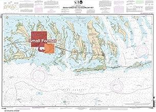 NOAA Chart 11445 Intracoastal Waterway Bahia Honda Key to Sugarloaf Key 2100 X 2904 SMALL FORMAT WAT
