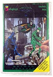 BATMAN FOREVER Travel Pak by Colorforms // 1995