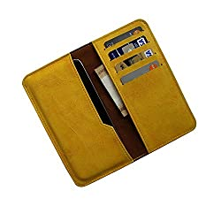 i-KitPit : PU Leather Wallet Flip Pouch Case For Samsung Galaxy S4 Mini (YELLOW)