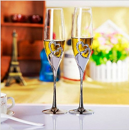 2-pcs-set-wedding-champagne-crystal-silver-plated-toasting-flutes-long-wine-glasses-cup-diamond-ring