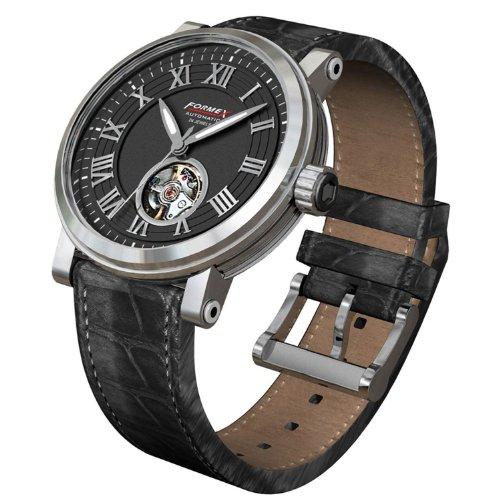 Formex 4 Classic Open heart Black dial men's watch 480.1.6320 (beige\/sand\/tan)
