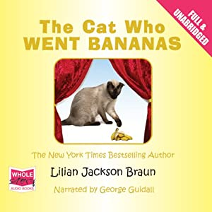 The Cat Who Went Bananas Audiobook