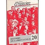 Cahiers d'Histoire de l'institut de Recherches Marxistes. N? 20, 1985. Histoire de la Bretagne(I). Contient entre...