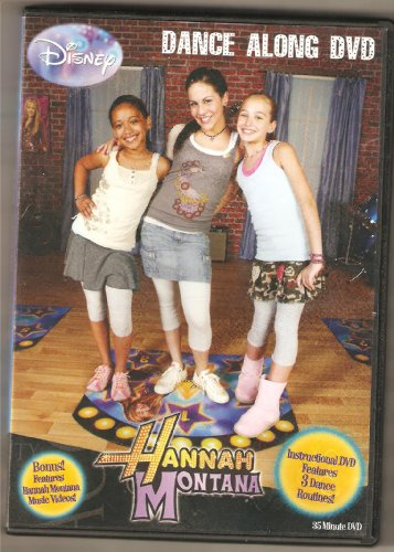 Hannah Montana Dance Along DVD - 1