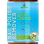 Nail Polish Remover - 100% NATURAL &...