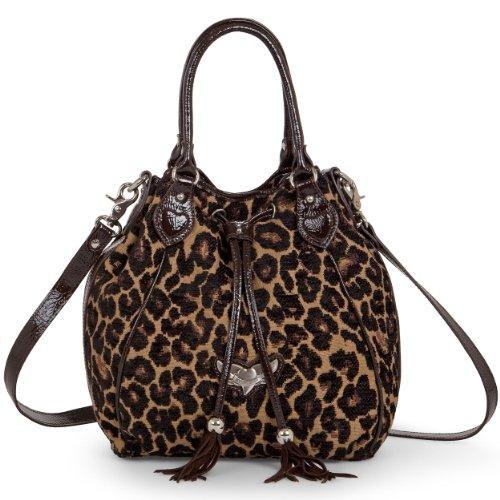 new-lancaster-paris-italy-fabric-giraffe-satchel-handbag-ipad-pockets-brown