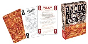 Bacon Recipes Playing Card Game