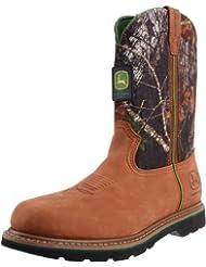 John Deere Men's 11 Inch Mossy Oak Camo Boot