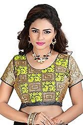 Renishafashion Women's Exclusive Self Designer Blouse Collection(Yellow)