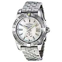 Breitling Galactic 36 Mother of Pearl Dial Stainless Steel Unisex Watch A3733011-A716SS