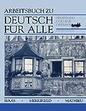 img - for Deutsch f??r Alle, Workbook: Beginning College German by Werner Haas (1993-03-01) book / textbook / text book