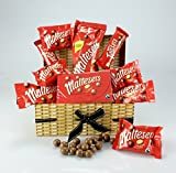 MALTESERS MEGA HAMPER Wicker Effect Box Large Selection...