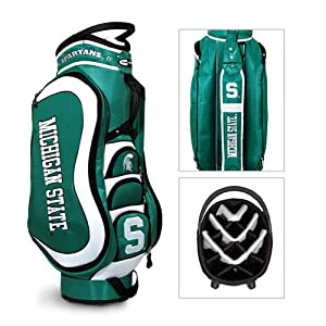 NCAA Michigan State Spartans Medalist Cart Golf Bag - Team Golf by Team Golf