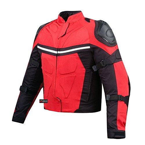 NEW PRO MESH MOTORCYCLE JACKET RAIN WATERPROOF RED XXL (Pro Mesh Motorcycle Jacket Rain compare prices)