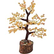 FairyBells Kart Energised Yellow Aventurine Crystal Tree FBKAC233 & Also Get Complimentary FairyBellsKart's Crystal...