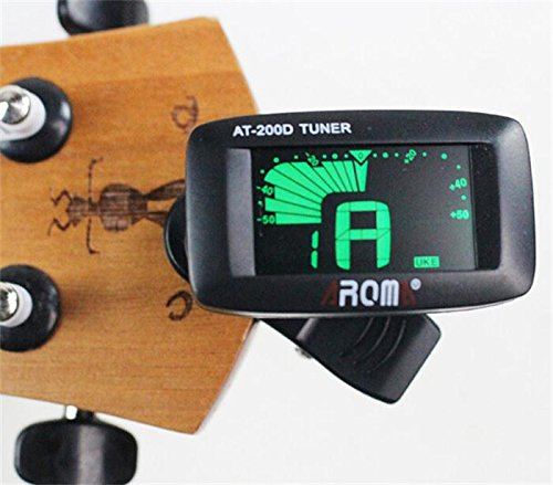 Clip on Chromatic Digital Tuner for Acoustic Electric Guitar