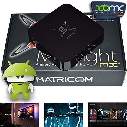 Matricom G-Box MX2 Dual Core XBMC Android 4.2 TV Box + Special Edition XBMC + Aurum HDMI 6ft Cable