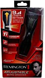 Remington Mb-200 Adjustable and Rechargeable Titanium Mustache & Beard Trimmer