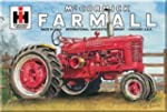 Farmall M Tractor Metal Sign